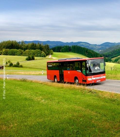 Mit Bus und Bahn unterwegs