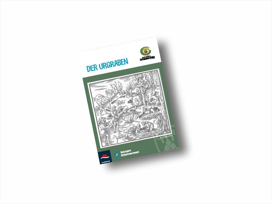 Booklet Entdeckerpfad Urgraben-Variante