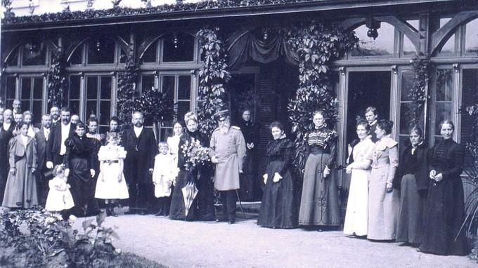 Der Großherzog zu Besuch im Glotterbad