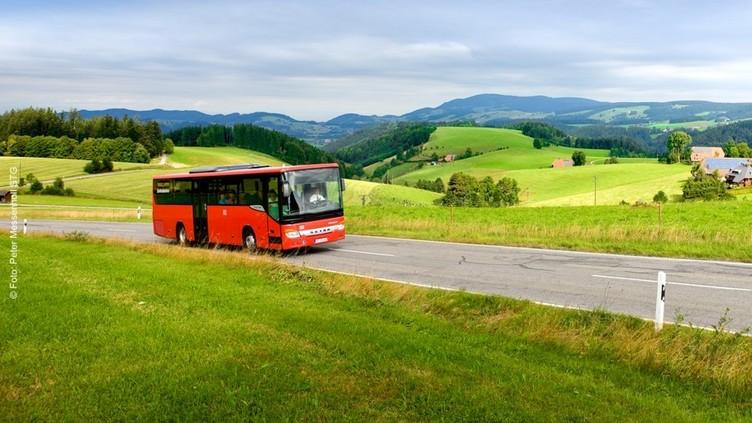 Mit dem Bus durch den Schwarzwald