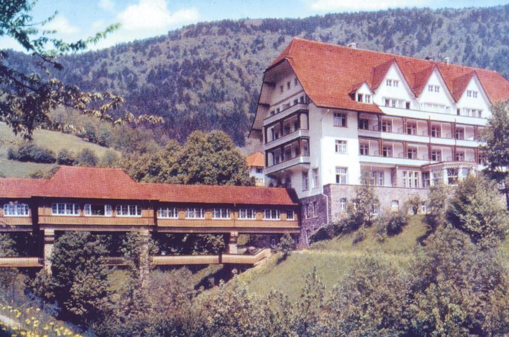 Historische Aufnahme des Carlsbau